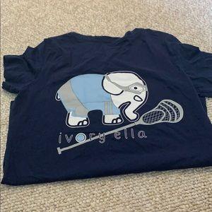 Ivory Ella Lacrosse Elephant Shirt